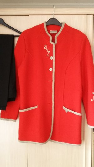 Stapf Traditional Jacket red new wool