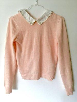 beclaimed vintage Pull tricoté rosé