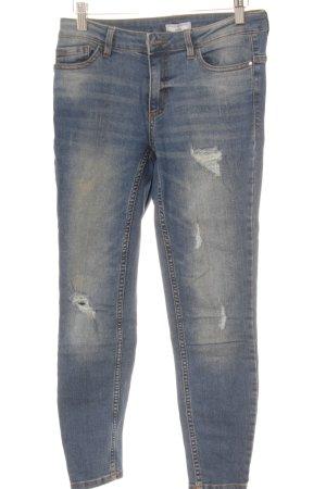 Jaqueline de Yong Skinny Jeans blau Casual-Look