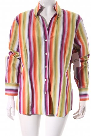 Jaques Britt Langarm-Bluse Streifenmuster Casual-Look