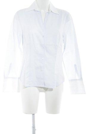 Jaques Britt Langarmhemd himmelblau-weiß Casual-Look