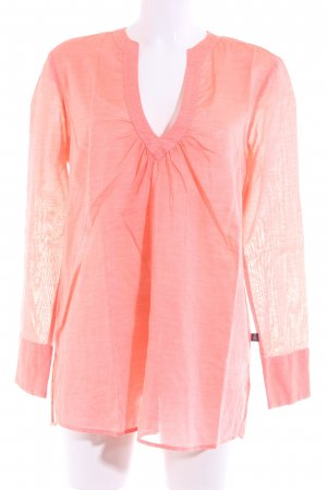Jaques Britt Oversized Bluse apricot Beach-Look