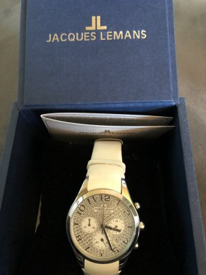 Jaques Lemans Chronograph in weiß