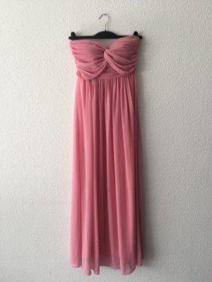 Jarlo trägerloses Kleid rosa XS S NEU