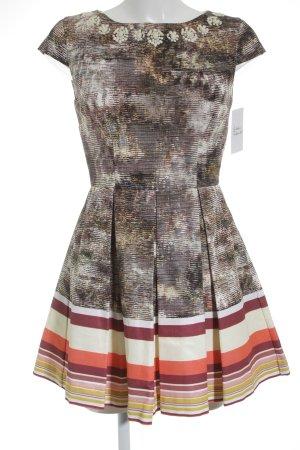 JASPAL Mini vestido moteado elegante