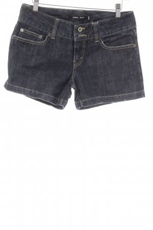JASPAL Shorts dunkelblau Casual-Look
