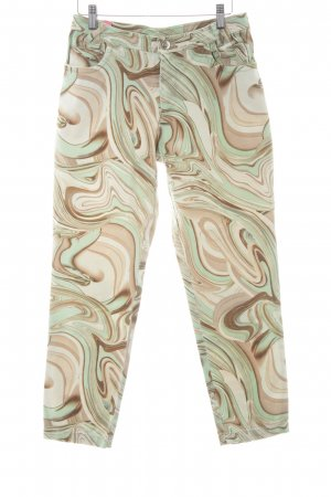Javier Simorra Röhrenhose abstraktes Muster extravaganter Stil