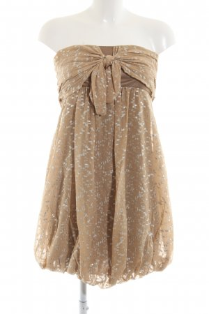 Jay ahr Bandeau Dress bronze-colored elegant