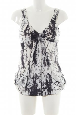 Jay Jays Long Top natural white-black abstract pattern casual look