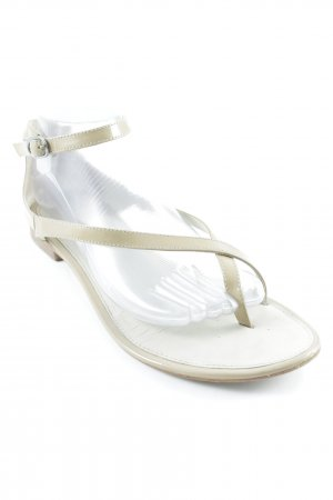 Jb martin Toe-Post sandals beige elegant
