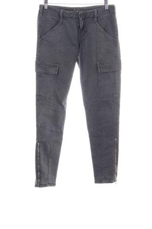 JBRAND Biker jeans lichtgrijs casual uitstraling