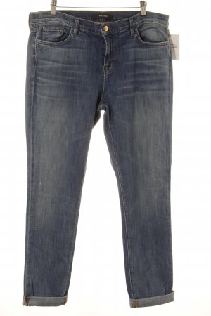 JBRAND Boyfriend Jeans cornflower blue street-fashion look
