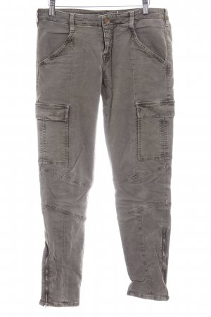 JBRAND Pantalon cargo kaki style décontracté