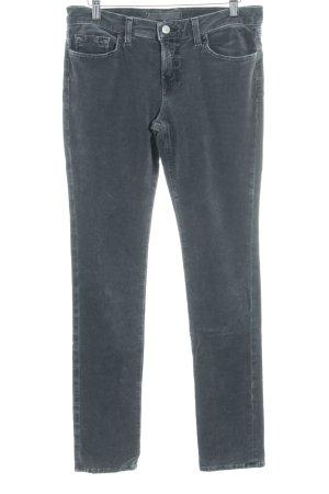 JBRAND Corduroy broek grijs simpele stijl