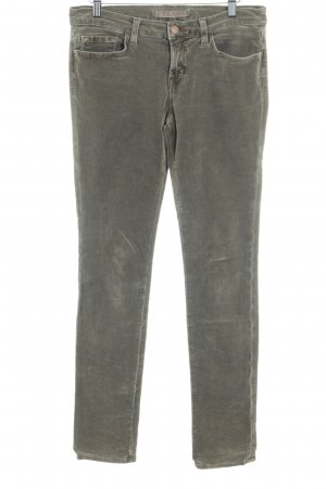 JBRAND Corduroy Trousers light brown simple style