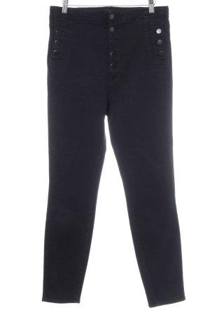 JBRAND High Waist Trousers black extravagant style