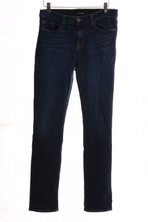 JBRAND Hoge taille jeans blauw casual uitstraling