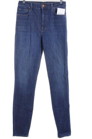JBRAND High Waist Jeans dunkelblau Street-Fashion-Look