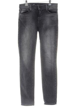 JBRAND Skinny Jeans hellgrau Casual-Look