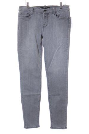 JBRAND Skinny Jeans grau Casual-Look