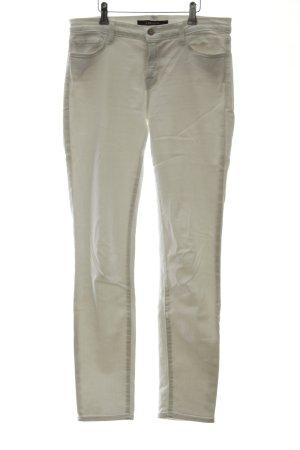 JBRAND Skinny Jeans weiß Marine-Look