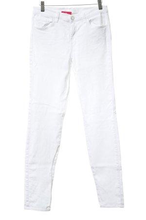 JBRAND Skinny Jeans wollweiß Casual-Look