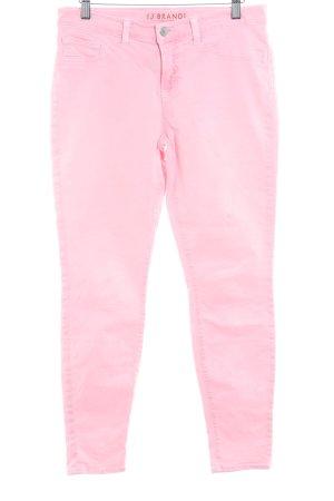 JBRAND Slim Jeans neonpink extravaganter Stil
