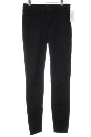 JBRAND Slim Jeans schwarz Casual-Look