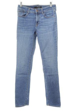 JBRAND Straight-Leg Jeans dunkelblau-stahlblau Street-Fashion-Look
