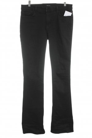 JBRAND Straight-Leg Jeans schwarz Street-Fashion-Look