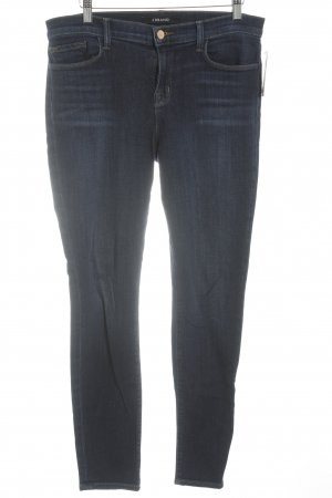 JBRAND Stretch Jeans dunkelblau Casual-Look