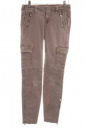 JBRAND Stretchhose bronzefarben Casual-Look