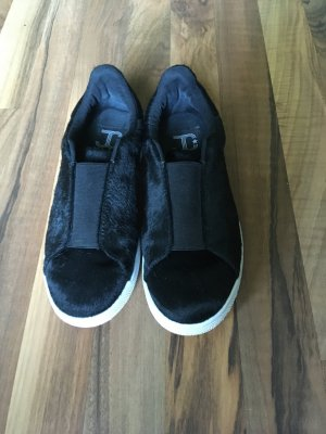 JC Play Slipon Sneaker Gr. 38. Schwarz. Fellimitat.