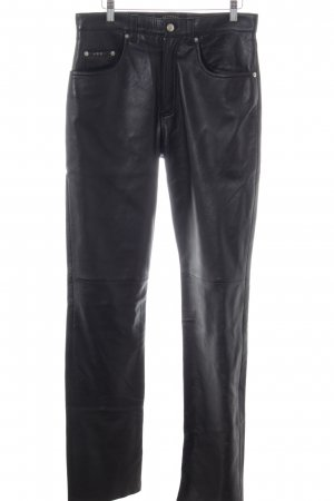 JCC Leather Trousers black extravagant style