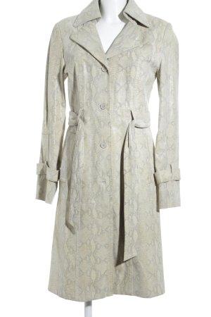 JCC Leather Coat animal pattern extravagant style