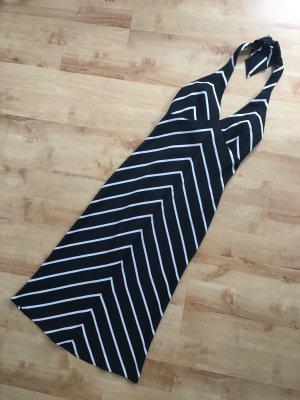 JDY Vero Moda Kleid Midikleid Neckholder schwarz weiß geometrisch Gr. XS