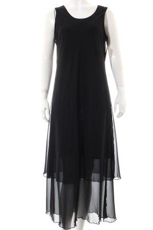 Jean Claire Kleid schwarz Elegant