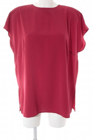 Jean Claire Kurzarm-Bluse rot Casual-Look