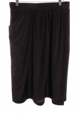 Jean Claire Pleated Skirt black elegant