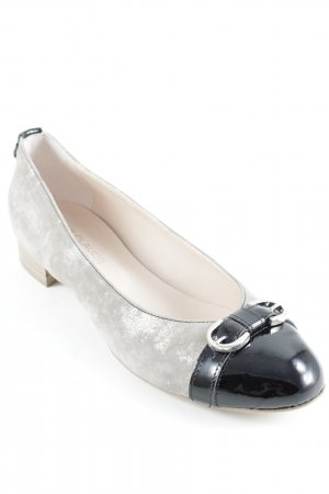 Jean Claude Pierlot Patent Leather Ballerinas multicolored elegant