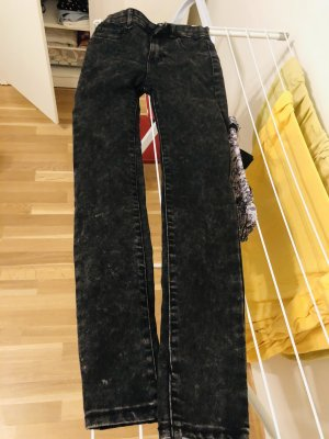 Pull & Bear Pantalón de cintura alta multicolor