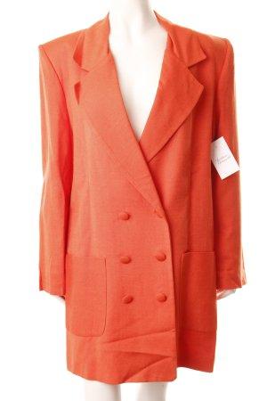 Jean Marc Philipp Paris Blazer lungo arancione chiaro stile professionale