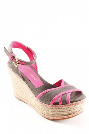 Jean-Michel Cazabat Wedge Sandals multicolored beach look
