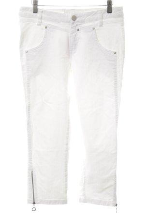 Jean Paul 7/8 Jeans weiß Casual-Look