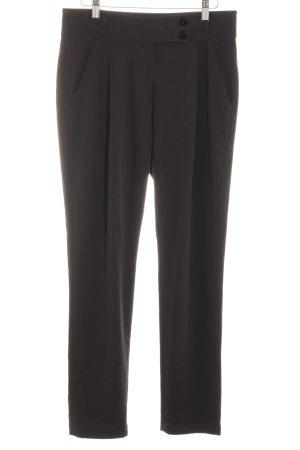 Jean Paul Berlin Pleated Trousers black elegant