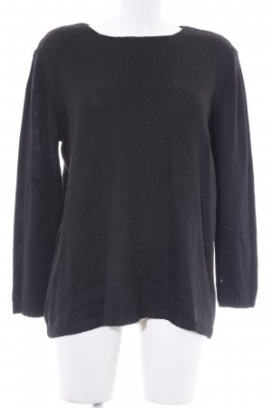 Jean Paul Berlin Strickpullover schwarz Casual-Look