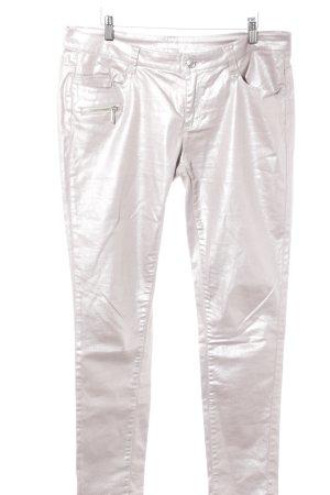 Jean Paul Pantalone cinque tasche argento stile casual