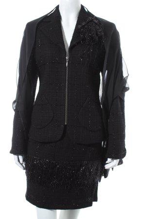 jean paul freiheit 11 Kostüm schwarz Elegant