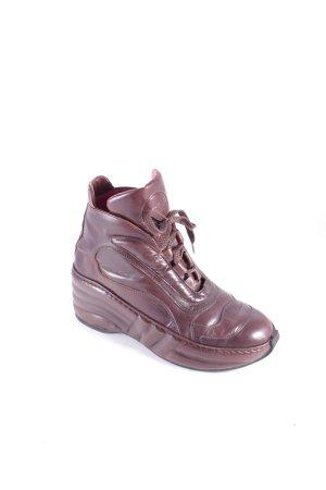 Jean Paul Gaultier Boots braun-dunkelbraun Street-Fashion-Look