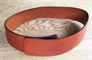 Jean Paul Gaultier Cinturón pélvico coñac